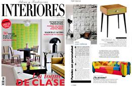 Revista Interiores - Abril 2015 Portada y P�gina 18