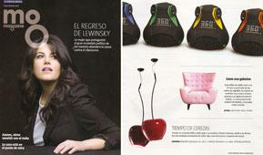 Revista Magazine La Vanguardia - Junio 2015 Portada y P�gina 9