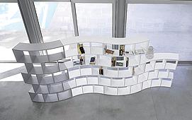 Librería Modular River V