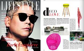 Revista LifeStyle - Junio 2015 Portada y P�gina 64