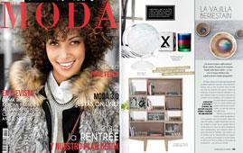 Revista La moda en las calles - Septiembre 2014 Portada y P�gina 109