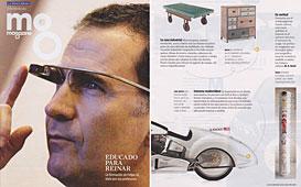Revista La Vanguardia - Junio 2014 Portada y P�gina 17
