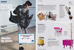 Revista Magazine La Vanguardia - Octubre 2014 Portada y P�gina 16