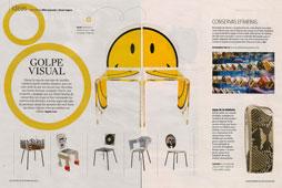 Revista Magazine La Vanguardia - Diciembre 2014 P�ginas 8 y 9