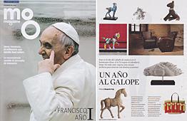 Revista Magazine La Vanguardia - Marzo 2014 Portada y P�gina 18