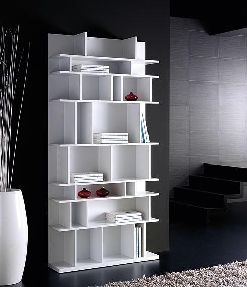 Librer a dise o caty white en cosas de arquitectoscosas de - Librerias salon modernas ...