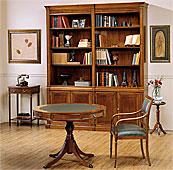Mesa de juegos regencia 4 cajones clásica