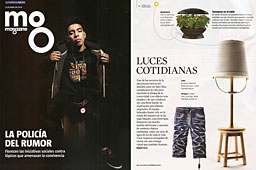 Revista Magazine La Vanguardia - Enero 2014 Portada y P�gina 52