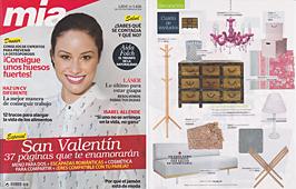 Revista Mia - Febrero 2014 Portada y P�gina 65