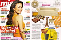 Revista Mia - Agosto 2014 Portada y Pagina 49