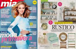 Revista Mia - Febrero 2015 Portada y P�gina 49