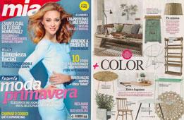 Revista Mia - Febrero 2015 Portada y P�gina 50