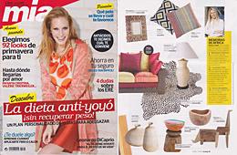 Revista Mia - Febrero 2014 Portada y P�gina 51