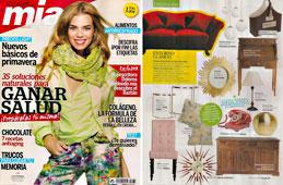 Revista Mia - Febrero 2015 Portada y P�gina 52