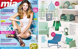 Revista Mia - Mayo 2015 Portada y P�gina 53