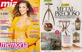 Revista Mia - Enero 2015 Portada y P�gina 52