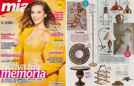 Revista Mia - Enero 2015 Portada y P�gina 53