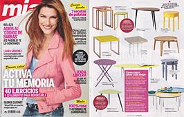 Revista Mia - Marzo 2014 Portada y P�gina 51
