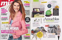 Revista Mia - Marzo 2014 Portada y P�gina 52