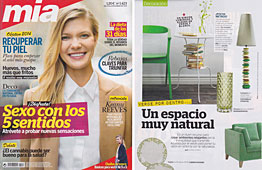 Revista Mia - Enero 2014 Portada y P�gina 50