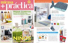 Revista Mi Casa + Práctica - Octubre 2016 Portada y Página 18