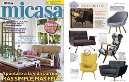 Revista MiCasa - Mayo 2014 Portada y P�gina 61