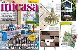 Revista MiCasa - Agosto 2014 Portada y P�gina 9