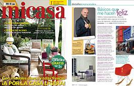 Revista MiCasa - Junio 2014 Portada y P�gina 122