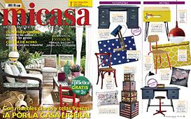 Revista MiCasa - Junio 2014 Portada y P�gina 35