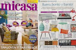 Revista MiCasa - Febrero 2015 Portada y P�gina 16