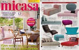 Revista MiCasa - Marzo 2015 Portada y P�gina 28