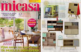 Revista MiCasa - Marzo 2015 Portada y P�gina 77
