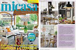 Revista MiCasa - Mayo 2015 Portada y P�gina 44