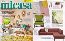 Revista MiCasa - Junio 2015 Portada y P�gina 9