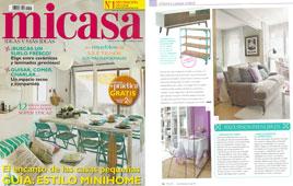 Revista MiCasa - Julio 2015 Portada y P�gina 38