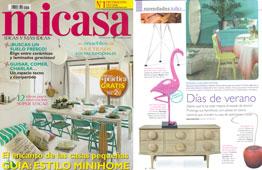 Revista MiCasa - Julio 2015 Portada y P�gina 8