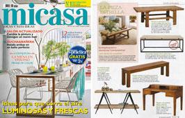 Revista MiCasa - Agosto 2015 Portada y P�gina 79