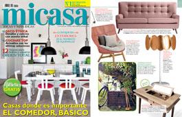 Revista MiCasa - Mayo 2016 Portada y P�gina 9
