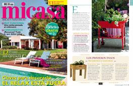 Revista MiCasa - Junio 2016 Portada y P�gina 45