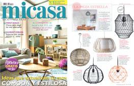 Revista MiCasa - Octubre 2016 Portada y Página 91