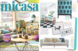 Revista MiCasa - Octubre 2016 Portada y Página 9