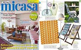Revista MiCasa - Julio 2014 Portada y P�gina 9