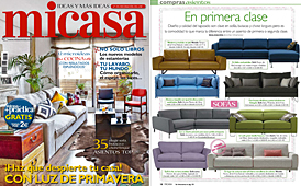 Revista MiCasa - Marzo 2014 Portada y P�gina 16