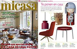 Revista MiCasa - Enero 2014 Portada y P�gina 16