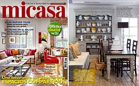 Revista MiCasa - Febrero 2014 Portada y P�gina 12