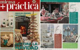 Revista Mi Casa + Pr�ctica - Diciembre 2014 Portada y P�gina 22