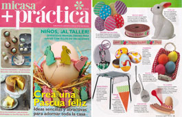 Revista Mi Casa + Pr�ctica - Marzo 2016 Portada y P�gina 35