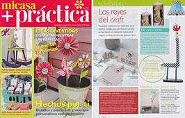 Revista MiCasa - Enero 2014 Portada y P�gina 4