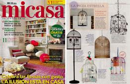 Revista MiCasa - Diciembre 2014 Portada y P�gina 77