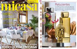 Revista MiCasa - Enero 2015 Portada y P�gina 10